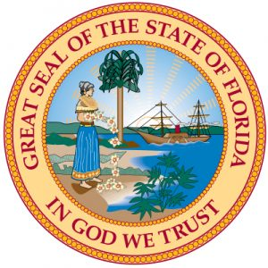 State of Florida seal - stateofflorida.com