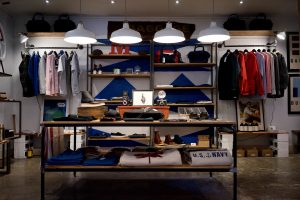 A clothing store setup showing an example of what owners can do. successfully run a clothing business